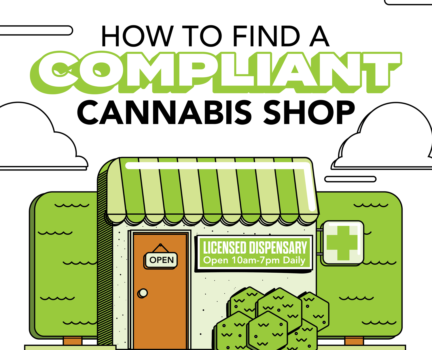 How to Find a Compliant Cannabis Shop