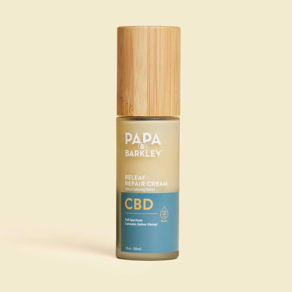 Papa Barkley Releaf Repair Cream CBD for CannaSafe Father's Day