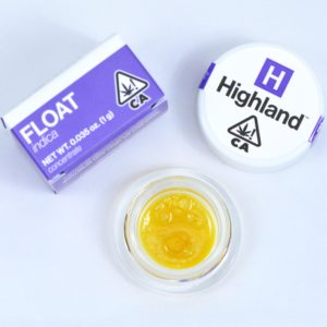 Meet Highland Oil Company Float Indica Cannabis Concentrate Product Packaging