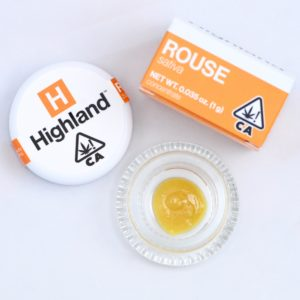 Meet Highland Oil Company Rouse Sativa Cannabis Concentrate Product Packaging
