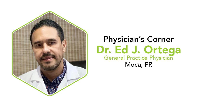 Dr. Ed J Ortega Moca Puerto Rico Physician's Corner CannaSafe Interview