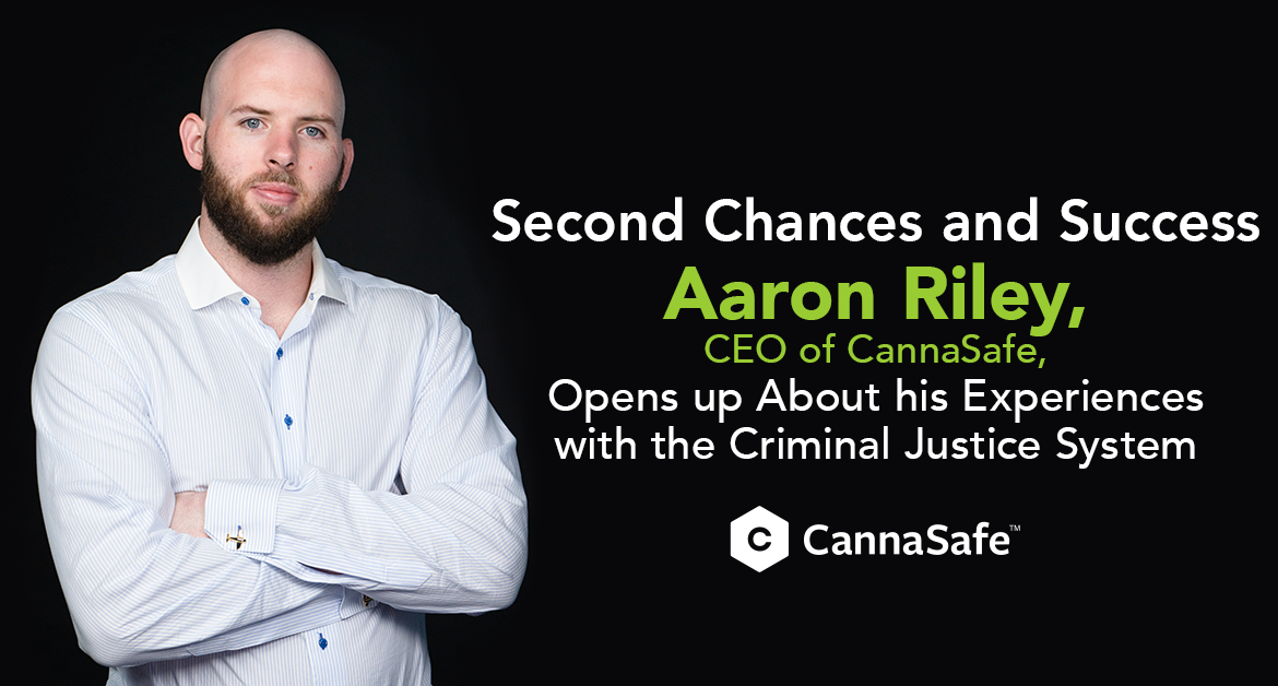 CEO of CannaSafe - Aaron Riley