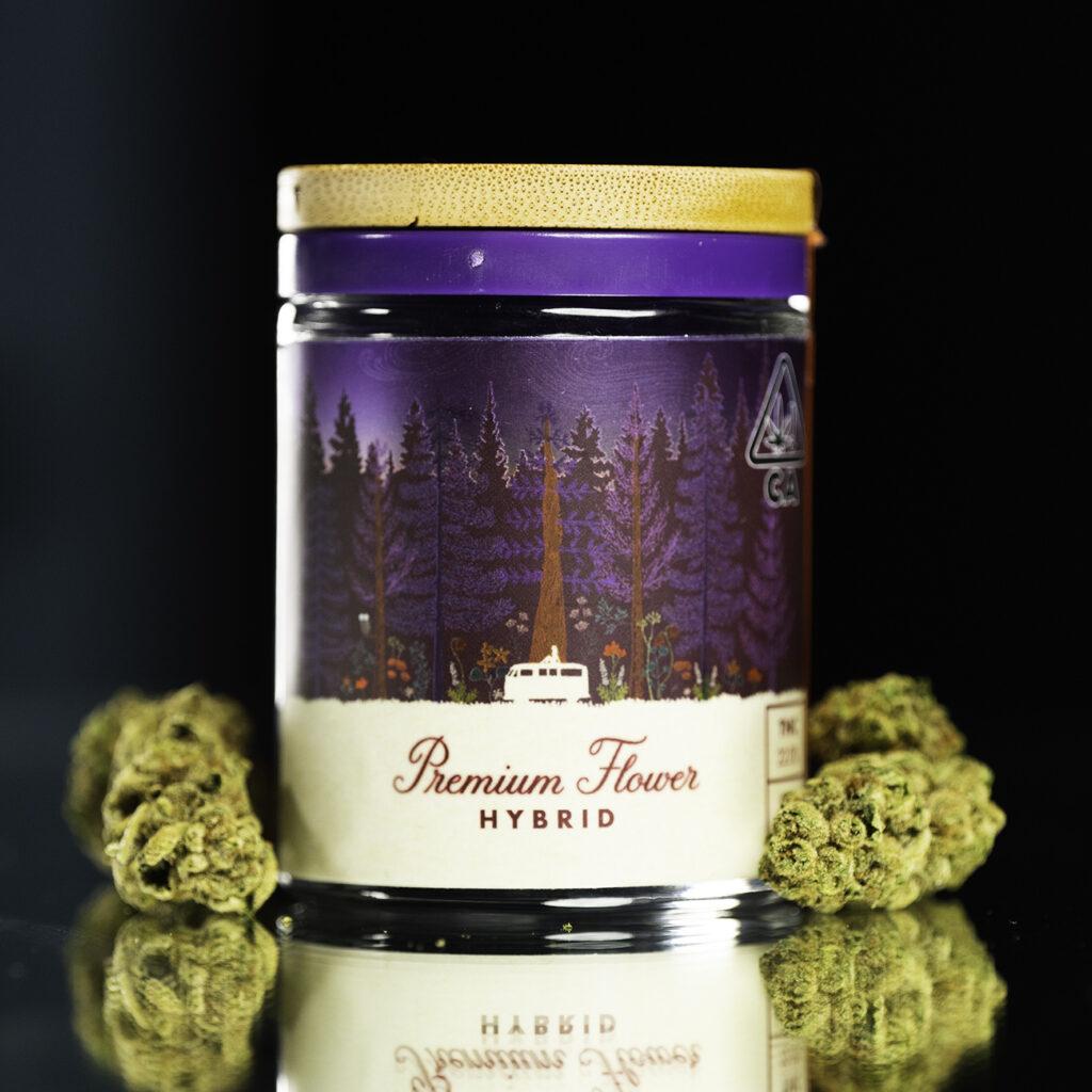premium sungrown cannabis flower 1/8th